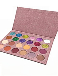 cheap -24 Colors Eyeshadow Eyeshadow Palette Shimmer Eye Health&Beauty Multi-function All-In-1 Single Open Lid Kits lasting Multi-function Daily Makeup Party Makeup Cosmetic Gift