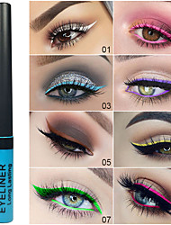 cheap -Brand DNM Matte Color Eyeliner Easy To Color Waterproof And Sweatproof Naturally Easy To Color Lasting Eye Makeup