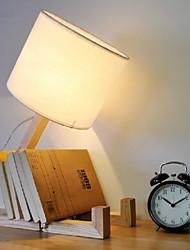 Недорогие -Настольная лампа Новый дизайн Художественный Назначение Спальня / Кабинет / Офис Дерево / бамбук 220 Вольт
