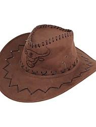 Недорогие -Муж. Классический Широкополая шляпа Джинса,Полоски Лето Хаки