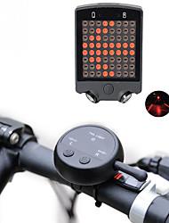 Недорогие -Лазер Светодиодная лампа Велосипедные фары Лампы сигнала поворота Задняя подсветка на велосипед огни безопасности LED Горные велосипеды Велоспорт Велоспорт / Водонепроницаемый / Супер яркий / USB