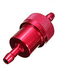 cheap -Universal Motorcycle Fuel Filter 1/4inch 6mm CNC Aluminum Alloy ATV Dirt Bike