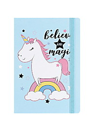 cheap -Novelty Paper Unicorn Pattern Coil Book / Note Book Notepad For School Office Stationery A5