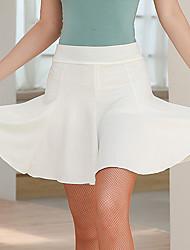 cheap -Latin Dance Skirts Ruching Women's Performance Natural Milk Fiber