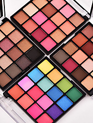 cheap -18 Colors Eyeshadow EyeShadow / EyeShadow / Adult Single Open Lid / Women / Portable / Lidded / Carrying / Lidded Tool Case Portable Daily Makeup 1160 Cosmetic
