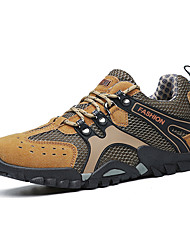 cheap -Men's Hiking Shoes Breathable Anti-Slip Quick Dry Sweat-wicking Hiking Climbing Travel Autumn / Fall Summer Black Brown Grey Khaki