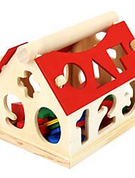 Недорогие -Устройства для снятия стресса Числа Геометрический узор деревянный для Детские Все
