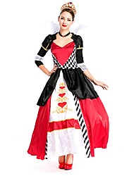 cheap -Dance Costumes Dresses Women's Performance / Cosplay Costumes Nylon Pattern / Print / Split Joint Dress