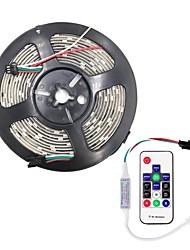 Недорогие -Brelong smd5050 10мм 5м 300led эпоксидная водонепроницаемая световая полоса 14 клавиш инфракрасный контроллер