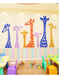 cheap -Decorative Wall Stickers - Animal Wall Stickers Animals / Holiday Outdoor / Kids Room