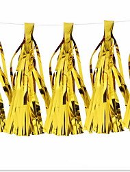 cheap -Holiday Decorations Holidays & Greeting Decorative Objects Party Gold 2pcs