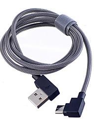 Недорогие -Type-C Кабель Нормальная / Плетение Терилен / Нейлон Адаптер USB-кабеля Назначение Samsung / Huawei / Nokia
