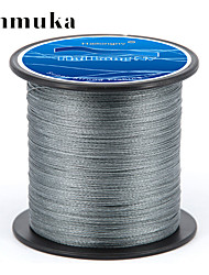 cheap -PE Braided Line / Dyneema / Superline Fishing Line 300M / 330 Yards PE 50LB 0.32 mm Sea Fishing Fly Fishing Bait Casting / Ice Fishing / Spinning