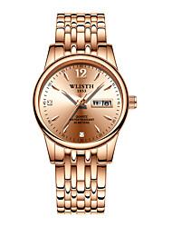 cheap -WLISTH Women's Quartz Watches Analog - Digital Quartz Stylish Casual Water Resistant / Waterproof Calendar / date / day Noctilucent