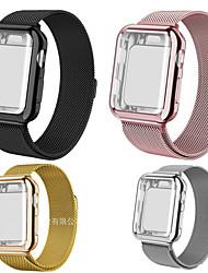 Недорогие -SmartWatch Band для Apple Watch серии 4/3/2/1 Apple, Милан петля из нержавеющей стали группа силиконовые чехлы iwatcht ремешок