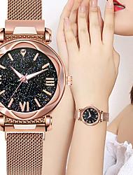 cheap -Women's Quartz Watches Quartz Novelty Stylish Sparkle Chronograph Analog Black Blue Purple / Two Years / Two Years