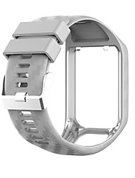 cheap -Watch Band for TomTom Adventurer / TomTom Golfer 2 / TomTom Spark 3 TomTom Sport Band Silicone Wrist Strap