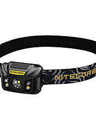 cheap -Nitecore NU30 Headlamps Water Resistant / Waterproof 400 lm LED XP-G2 Emitters Manual Mode Water Resistant / Waterproof With Ties Portable Power Saving Function Lightweight Camping / Hiking / Caving