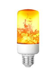 Недорогие -KWB пламя эффект огня светодиодные лампы 6 Вт 3 режима ретро беспламенные лампы средний винт бытовой пламя мерцание декоративная атмосфера свет для бара отеля ночные клубы наружное освещение сада
