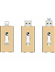 cheap -LITBest OTG USB Flash Drive Apply to Apple Android USB 3 in 1 Metal U Disk-32GB