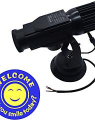 cheap -Door Light Projector Advertising Projector Light Tiktok Star Light Adjustable Small Spotlight Welcome Smille Face Suitable for Cafe Bar Club Shop 220-240V / 110-120V  30W