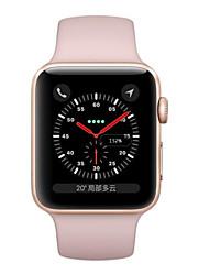 Недорогие -Apple Apple Watch Series 3 GPS Смарт Часы iOS обновленный Bluetooth Водонепроницаемый Сенсорный экран GPS Пульсомер Израсходовано калорий