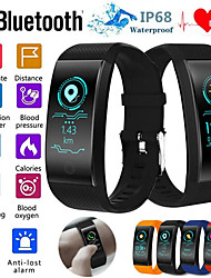 cheap -QW18 Smart Bracelet Heart Rate Monitor IP68 Waterproof Color Screen Fitness Tracker Band Watch Outdoor Sports Wristband