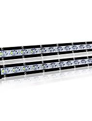 Недорогие -Одиночный рядок 36w с дороги вел легкие ультра-тонкие света адвокатского сословия вождения / работы света для автомобилей atv грузовиков