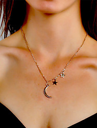 cheap -Women's Necklace Charm Necklace Chrome Gold Silver 50 cm Necklace Jewelry 1pc For Daily Holiday School Street Festival
