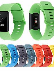 cheap -Durable Bracelet Accessories Wrist Band Straps For Fitbit Charge 3 Strap For Fitbit Charge 3 Watch Silicone Belt Fit Bit Charge3