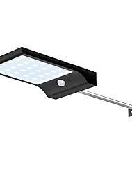 cheap -Solar Wall Lamp Outdoor Waterproof Garden Courtyard Light Controlled Ultra-thin Black Rod Human Sensor Light