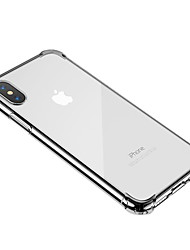 cheap -Case For Apple iPhone XS / iPhone XR / iPhone XS Max Shockproof / Transparent Back Cover Transparent Soft TPU