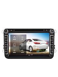 Недорогие -Массовая навигация 8 дюймов Встроенный автомобильный DVD-плеер Volkswagen