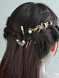 cheap -Women's For Casual / Daily Festival Rhinestone Alloy Gold 6pcs