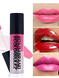 abordables -dnm 3 couleurs crème glacée imperméable hydratante lipgloss liquide maquillage rouge à lèvres maquillage