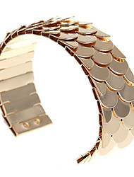 cheap -Women's Cuff Bracelet Classic Fish Fashion Alloy Bracelet Jewelry Black / Silver / Rose Gold For Gift Daily