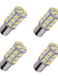 cheap -4pcs BA15S 1156 LED Car Turn Signal Light Bulbs 2.5W SMD 5050 27 LED Parking Light Back Up Light Clearance Lamp