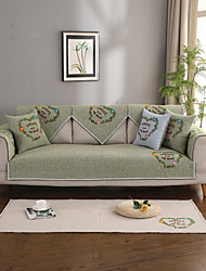 cheap -Sofa Cushion Contemporary Embossed Polyester / Cotton Blend Slipcovers