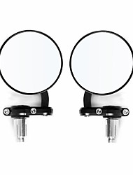 cheap -7mm Motorcycle Mirrors 7/8inch Handle Bar Mount Spherical