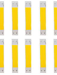cheap -10pcs COB 9 V Bulb Accessory / Strip Light Accessory Aluminum LED Chip for DIY LED Flood Light Spotlight 5 W / 50 W