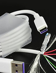 Недорогие -Type-C Кабель Нормальная PP Адаптер USB-кабеля Назначение Samsung / Huawei / Nokia
