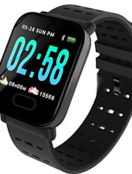 cheap -ST6 Smart Watch BT Fitness Tracker Support Notify/ Heart Rate Monitor/ Blood Pressure Sports Smartwatch Compatible Samsung/ Android/ Iphone