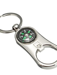 cheap -3D Keychain Keyfob Gift Compass Bottle Opener Keyring Multifunctional