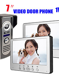 cheap -815M12 Ultra-thin 7-inch wired video doorbell HD villa video intercom outdoor unit night vision rain unlock function