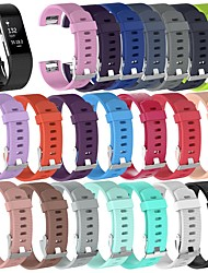 cheap -1 PCS Watch Band for Fitbit Sport Band Classic Buckle Silicone Wrist Strap for Fitbit Charge 2
