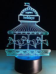 cheap -3D Nightlight Creative USB 1pc