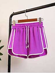 cheap -Women's Running Shorts Athletic 1 pc Shorts Bottoms Sport Running Boxing Exercise & Fitness Breathable Quick Dry Compression White Purple Red Blue Gray Classic / Stretchy