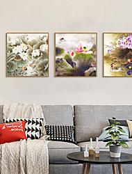cheap -Framed Art Print Framed Set - Animals Floral / Botanical PS Photo Wall Art