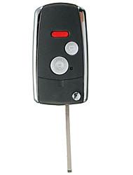 Недорогие -3/2 кнопки кнопки флип чехол чехол складной ключ дистанционного управления автомобилем для Honda