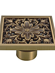 cheap -Drain New Design Antique Brass 1pc - Bathroom Floor Mounted